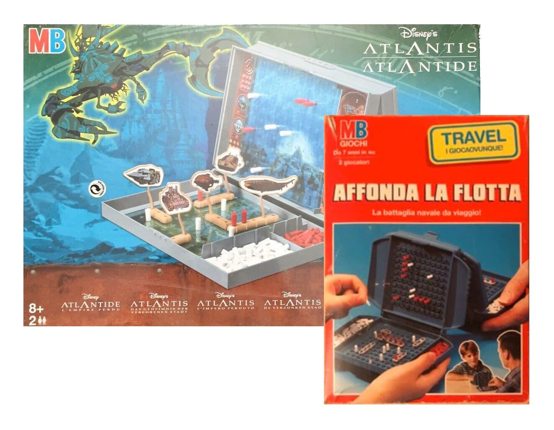 Affonda la flotta & Battaglia navale Atlantis