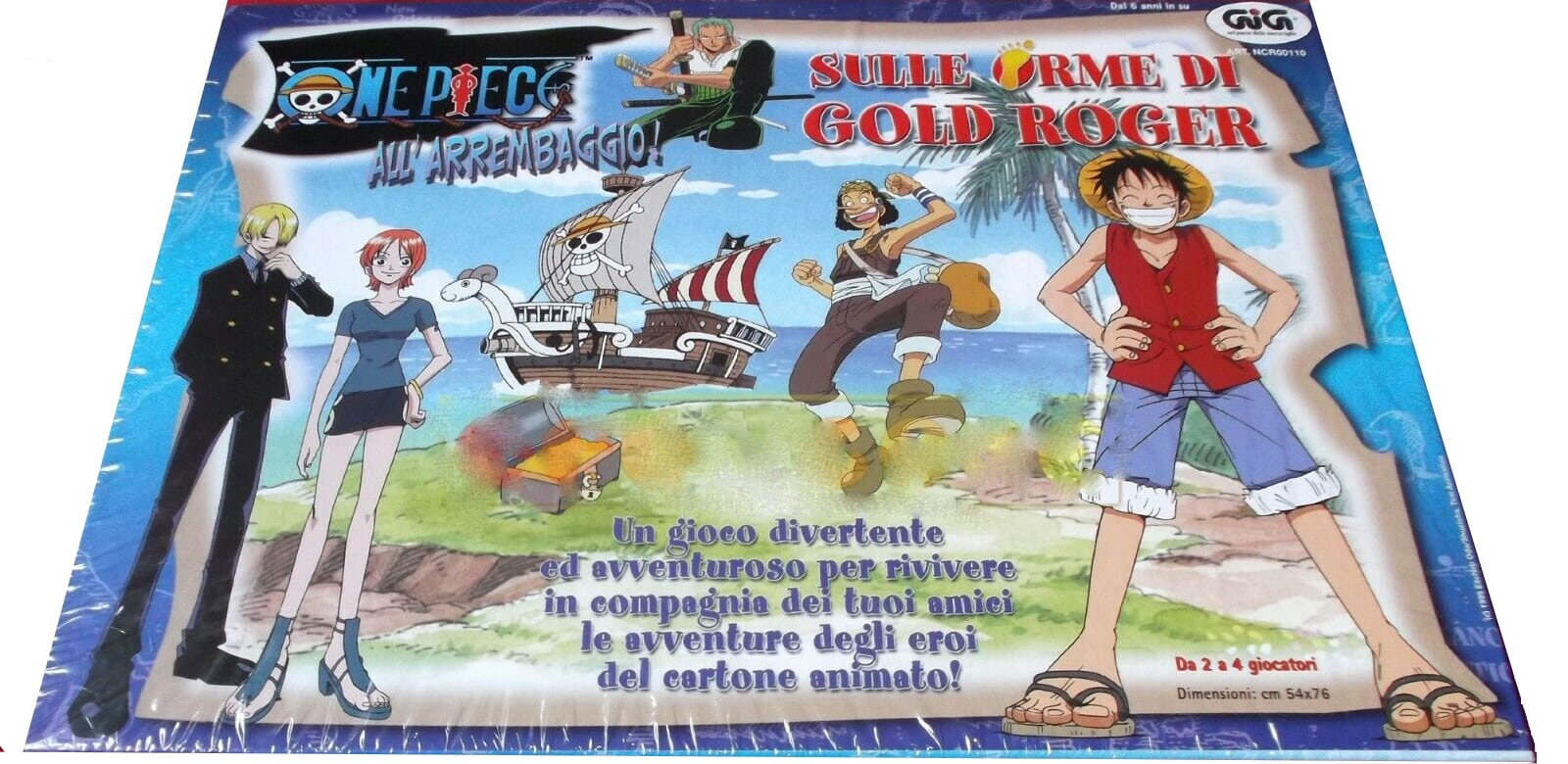 One piece sulle orme di Gold Roger